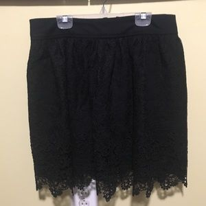 Banana Republic Heritage Collection Black Skirt